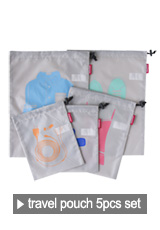 travelpouch 5pcs set